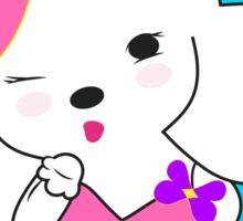 """""""I love you to the moon & back"""" Sticker by Hana Ohana Sticker"""