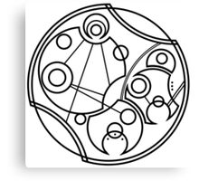 'Don't Forget to Be Awesome' in Gallifreyan Canvas Print