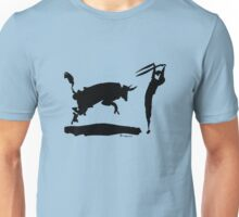 Bull fight III paint by Pablo Picasso Unisex T-Shirt