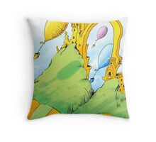 Dr. Seuss Oh The Places You'll Go Throw Pillow