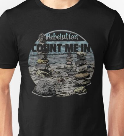 Count Me In, Rebelution Unisex T-Shirt