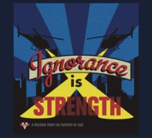 Ignorance Is Strength 1984 George Orwell Kids Clothes