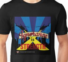 Ignorance Is Strength 1984 George Orwell Unisex T-Shirt