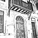old door by Yannis-Tsif