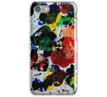 Diving in the ocean iPhone Case/Skin