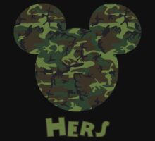 Mickey Mouse Camouflage Hers by sweetsisters