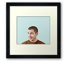 NICK JONAS #1 Framed Print