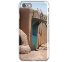 On the Taos Pueblo iPhone Case/Skin