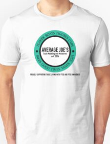 Average Joe's Scale models and miniatures PTSD Unisex T-Shirt