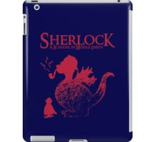 Sherlock - A scandal in Middle Earth (red) iPad Case/Skin