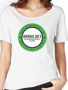 Average Joe's Scale models and miniatures Women's Relaxed Fit T-Shirt