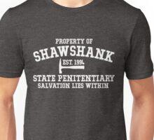 Shawshank State Penitentiary - Shawshank Redemption  Unisex T-Shirt