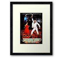 It's Saturday Night Fever, It's Disco Time !! Framed Print