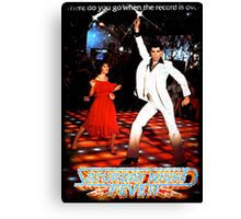 It's Saturday Night Fever, It's Disco Time !! Canvas Print