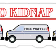 How To Kidnap In 1983 Sticker