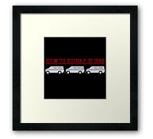 How To Kidnap In 1983 Framed Print