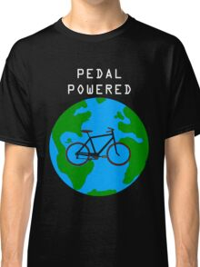 Pedal Powered, no fossil fuels required. Classic T-Shirt