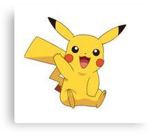 Pikachu pokemon Canvas Print