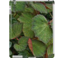 Lush Large Leaf Begonia  iPad Case/Skin