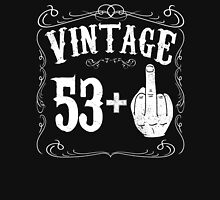 Vintage middle finger salute 54th birthday gift funny 54 birthday 1962 Unisex T-Shirt