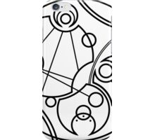 'Don't Forget to Be Awesome' in Gallifreyan iPhone Case/Skin