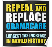 Repeal And Replace Obamacare Poster