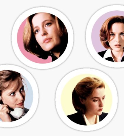 Multipack Pastel Scully Sticker