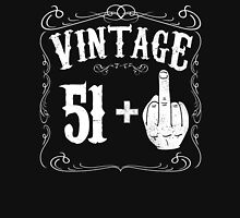 Vintage middle finger salute 52nd birthday gift funny 52 birthday 1964 Unisex T-Shirt