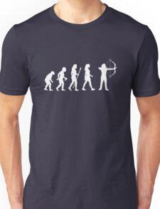 Archery Evolution Funny Womens Shirt Unisex T-Shirt