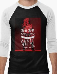 Genie in a Bottle Men's Baseball ¾ T-Shirt