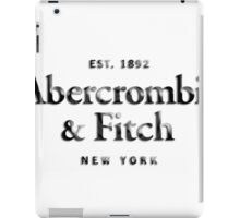 Abercrombie n Fitch iPad Case/Skin