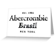 Abercrombie n Fitch Greeting Card