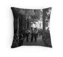 Street scene Hanoi Throw Pillow