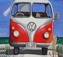 Beach Kombi by TwoShoes