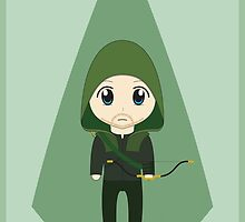 Arrow: Too Cute to Fail by jacquipainter