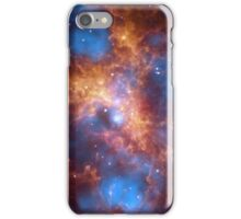 Orange Space iPhone Case/Skin