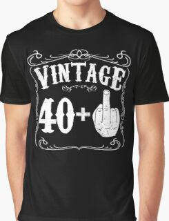 Vintage middle finger salute 41st birthday gift funny 41 birthday 1975 Graphic T-Shirt