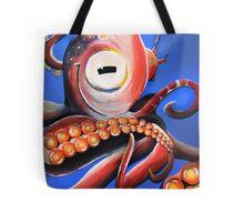 Smiling Cephalopod Tote Bag