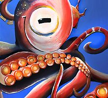 Smiling Cephalopod by TwoShoes