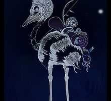 Night Journey Emu by TwoShoes