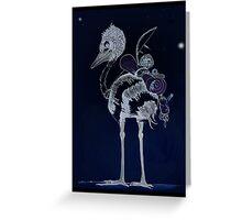Night Journey Emu Greeting Card