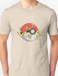 #TeamInstinct Pokeball Unisex T-Shirt