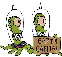 Earth Capital by SamHallPOA