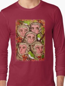 Macaques! Long Sleeve T-Shirt