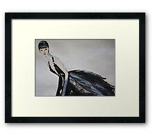 Ming  (Self-Portrait) Framed Print