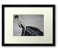 Ming  (Self-Portrait) Framed Print