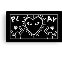 Comme des Garcons x Keith Haring Canvas Print