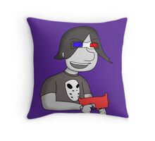 Zombies Ate My Brent Throw Pillow