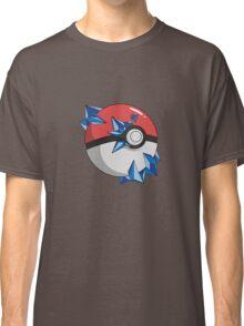 #TeamMystic Pokeball Classic T-Shirt