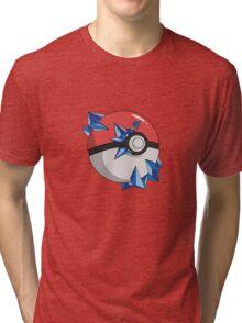 #TeamMystic Pokeball Tri-blend T-Shirt